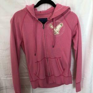 AE Pink Hoodie